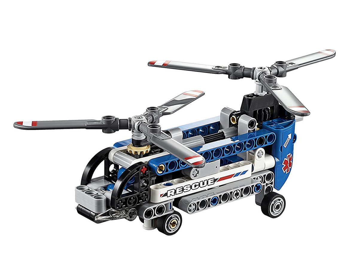 LEGO Technic 42020 Twin Rotor Helicopter Model Kit