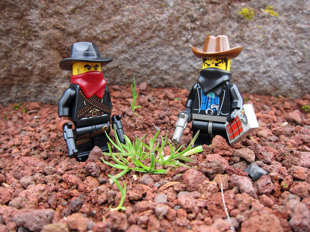 Lego Minifig Cowboy