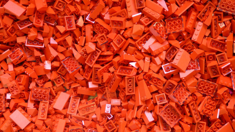 Red Lego Bricks