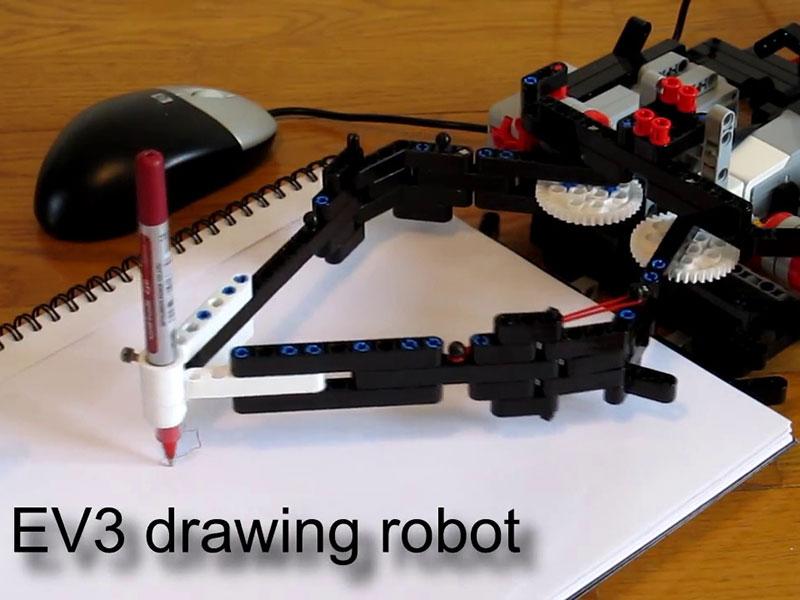 The EV3 Print3rbot